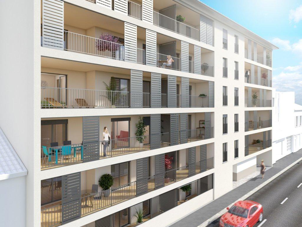 Annonce vente appartement vienne 38200 69 m 198 300 for Appartement atypique vienne 38200